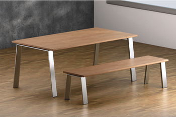 Komplett bordsstativ - olika längder