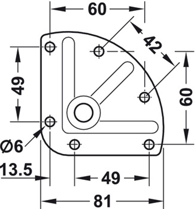 Stora möbelhjul - Design, med och utan broms