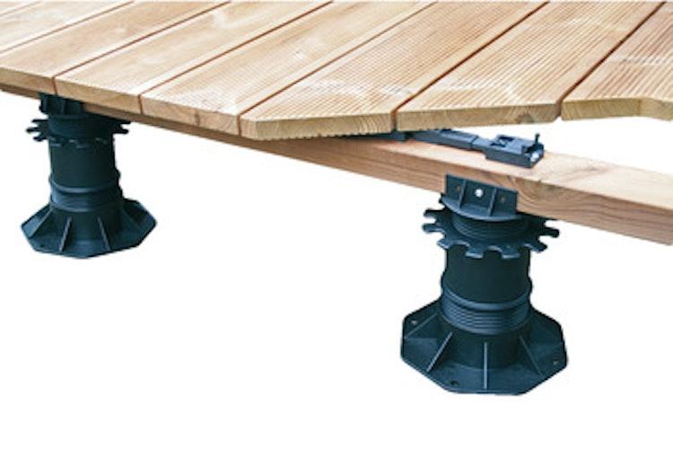 Ställfot för träkonstruktioner, 25 - 40 mm - paket om 42 st