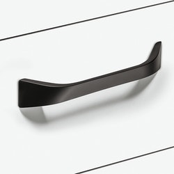 Modell H91 - finns som rostfritt och matt svart i cc 160 mm