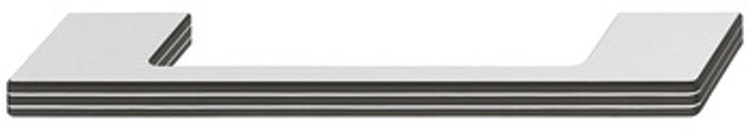 Modell B108 - finns i borstad aluminium/svart och svart/silver, cc 160 och 320 mm