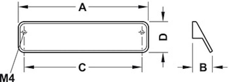 Modell L63 - finns som mörkbrun, cc 160 mm