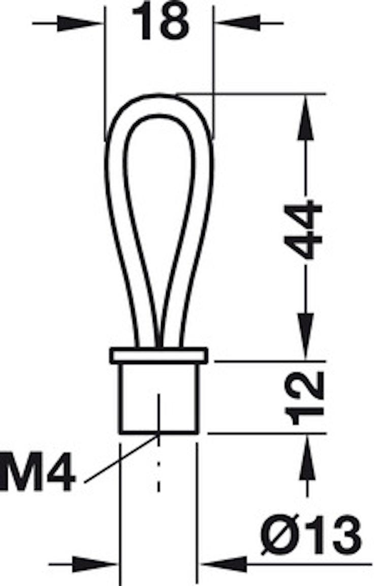 Modell L105 - finns i svart