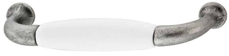 Modell P382 - finns i antikt tenn med porslin, cc 96 mm