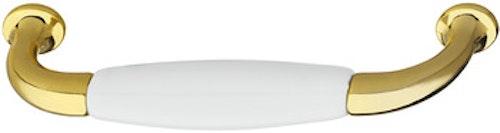 Modell P383 - finns i mässing med porslin, cc 96 och 128 mm