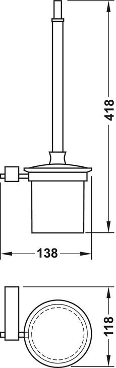 WC-borste