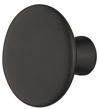 Möbelknopp, finns i krom, borstad nickel, mässing och svart