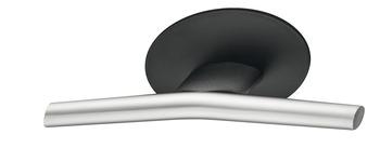 Möbelknopp, finns i svart/mässing, krom och krom/svart