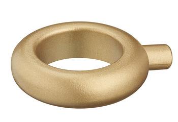 Möbelknopp, finns i krom, svart och guld