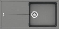Sink AS01L - finns i vit, beige, caramel, grå, anthracite, metallic svart och matt svart