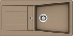 Sink AS02L - finns i vit, beige, caramel, grå, anthracite, metallic svart och matt svart