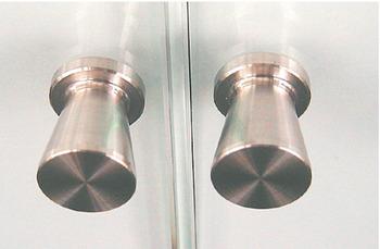 Möbelknopp i rostfritt stål