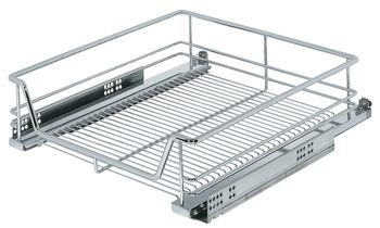 Kesseböhmer - Innerutdrag till underskåp med wire-botten, för placering bakom lådfront - finns till skåp 400, 450, 500 och 600 mm - Ej för fäste i lådfronten