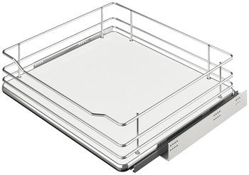 Häfele - Innerutdrag till underskåp med hel botten för placering bakom dörr eller lådfront - Ej för fäste i lådfronten