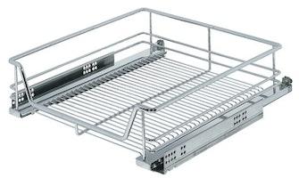 Kesseböhmer - Utdrag till underskåp med wire-botten, för placering bakom dörr - finns till skåp 450, 500 och 600 mm