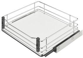 Häfele - Frontutdrag till underskåp med wire-botten för montering i lådfront