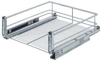 Kesseböhmer - Frontutdrag till underskåp med wire-botten, för montering i lådfront - finns till skåp 400, 450, 500 och 600 mm