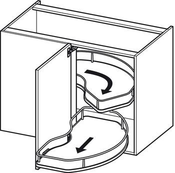 Häfele - Stativ till Corner Cabinet
