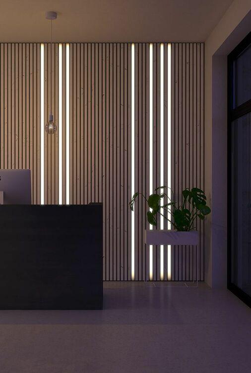 LED-BELYSNING BRED