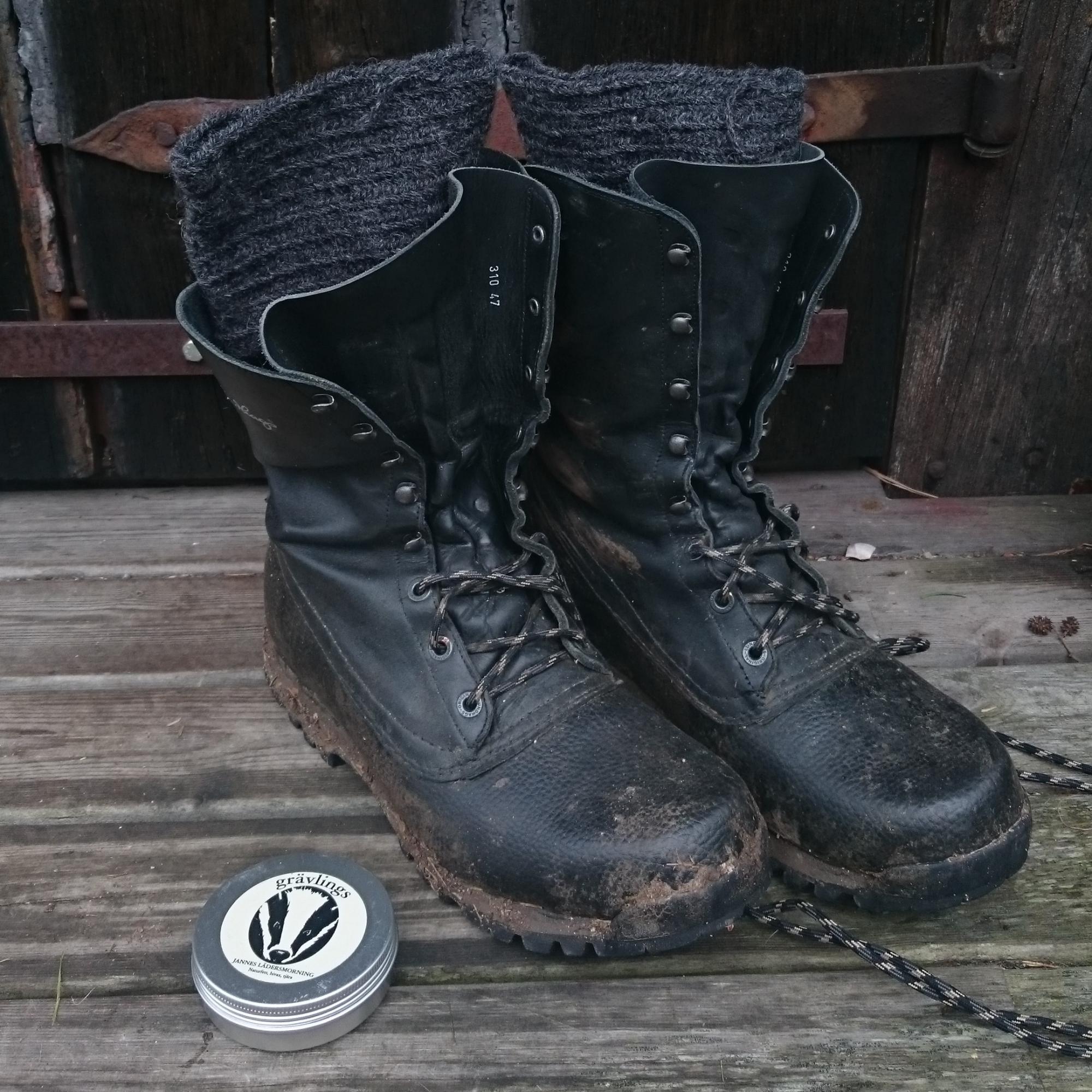 Grävlings Naturprodukter Gräsö > Lädersmorning