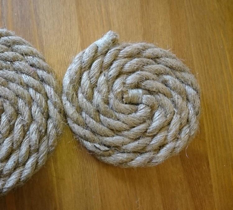 Grytunderlägg rep