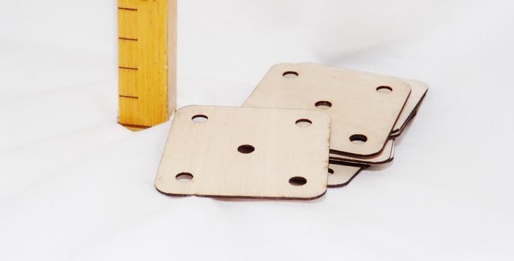 Brickvävningsbrickor till brickvävning