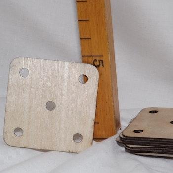 Brickvävningsbricka