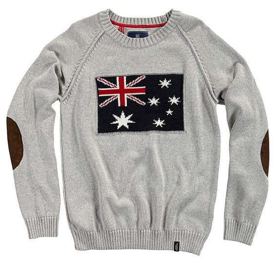 Australia Sweater Grey