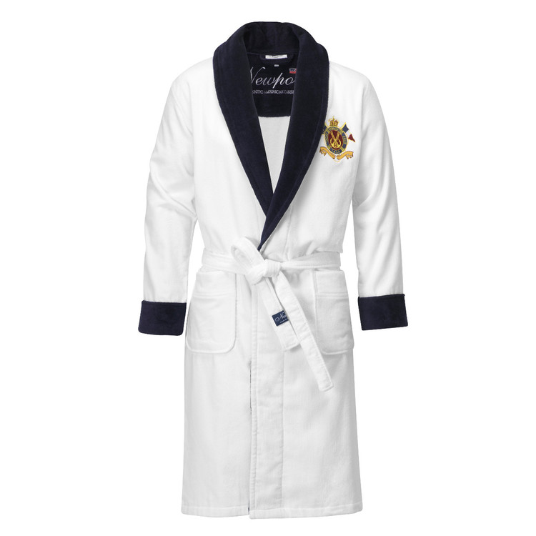 Yacht Club Bathrobe White