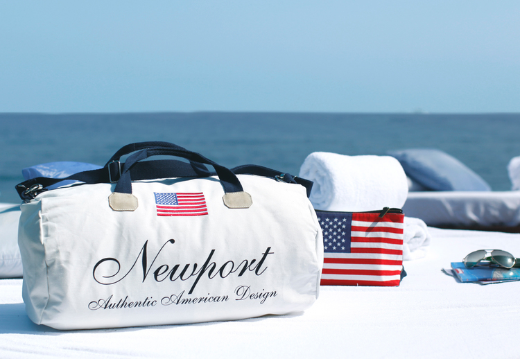 Cypress Point Weekend Bag White