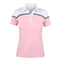 Seabeck Polo W Pink/White