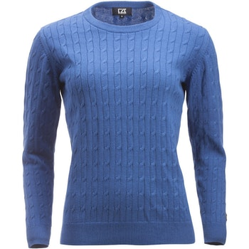 Blakely Knitted Sweater W Blue