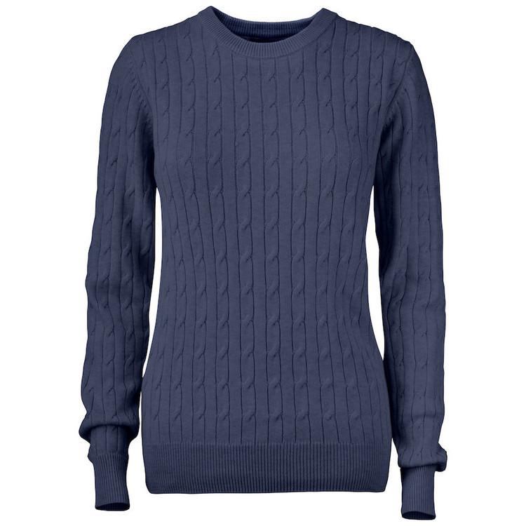 Blakely Knitted Sweater W Navymelange