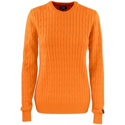 Blakely Knitted Sweater W Orange