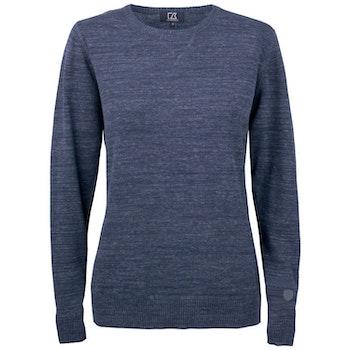 Eatonville Sweater W Navy Melange