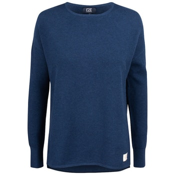 Carnation Sweater W Navy
