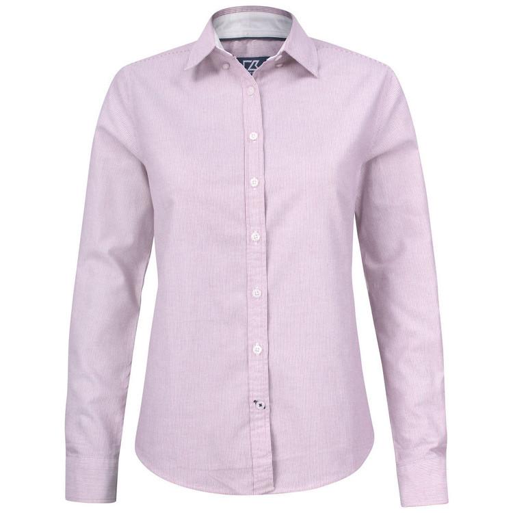 Belfair Oxford Shirt W Burgundy/White