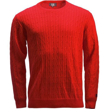 Blakely Knitted Sweater Red
