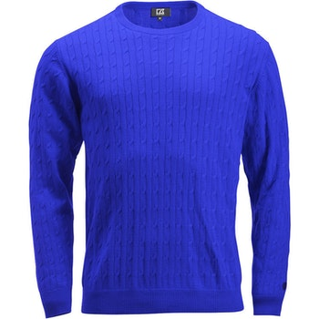 Blakely Knitted Sweater Blue