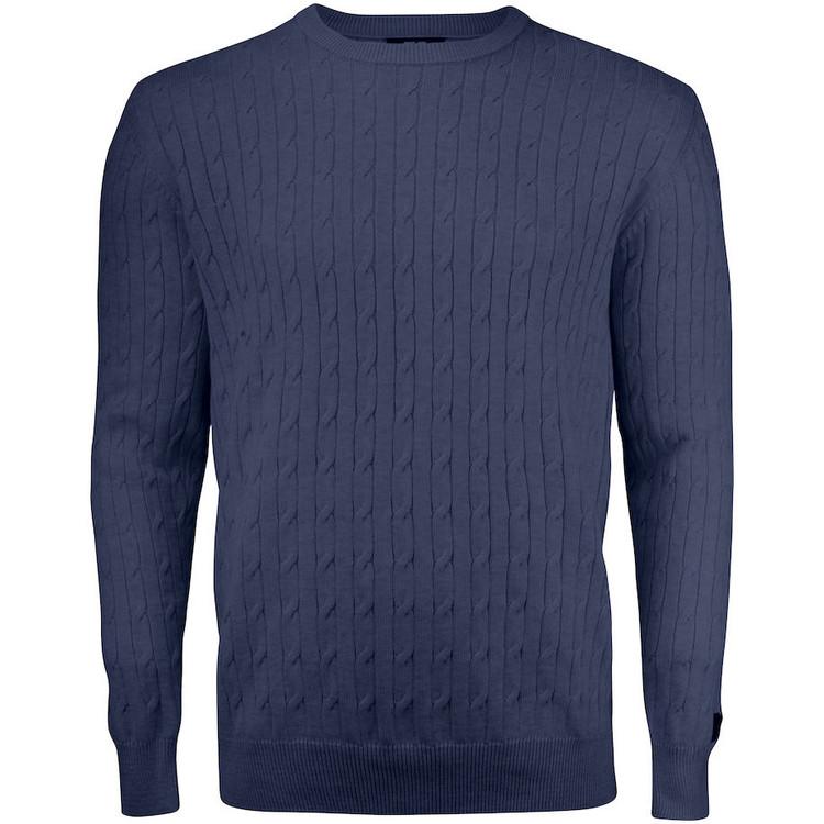 Blakely Knitted Sweater Navymelange