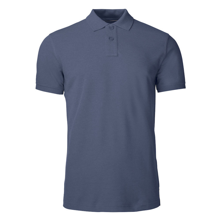 Rimrock Cotton Polo Navy Melange