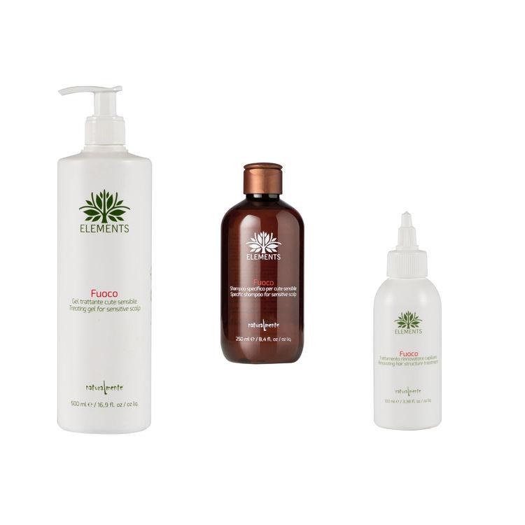 Treatment mot irritation och kliande hårbotten