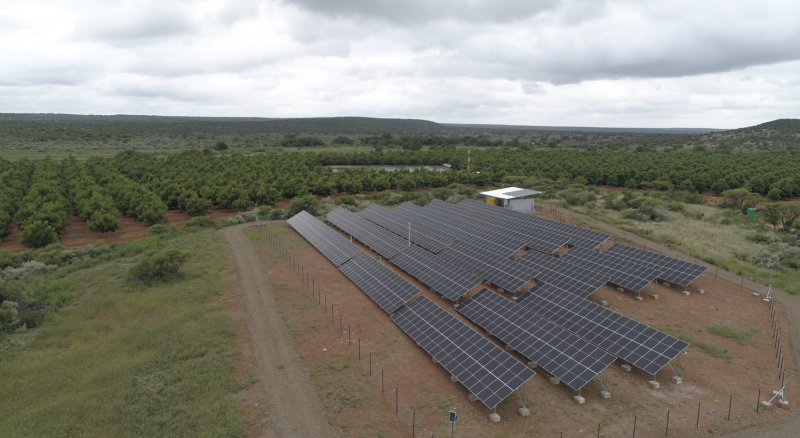 Largest private solar farm South Africa