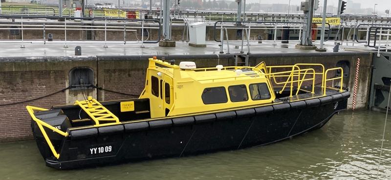 P&O:s nya oförstörbara lotsbåt