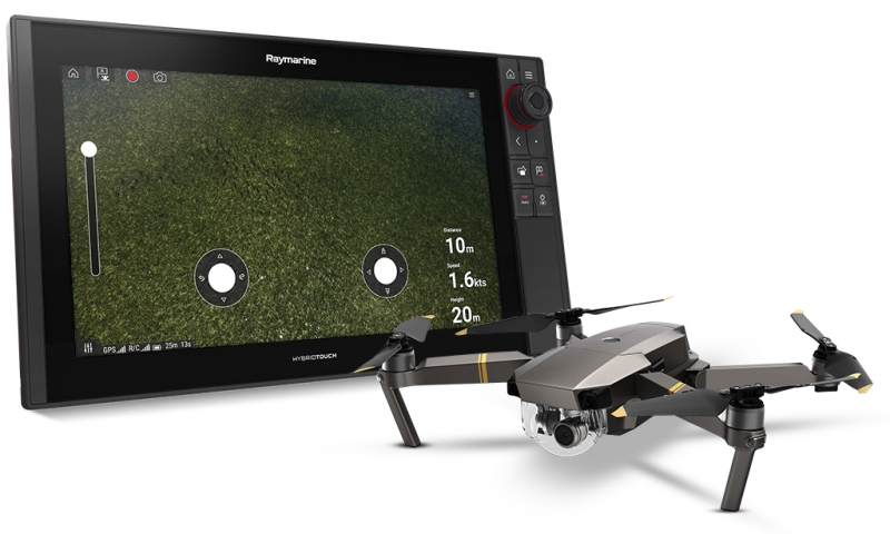 Raymarine Delivers Axiom UAV App