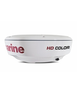 Raymarine - HD Color antenn, 4kW, 18 tum, 4,9 grader lobvinkel+10m raynet kabel