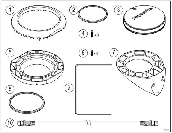 Raymarine - Agumended Reality paket för Axiom, kupolkamera