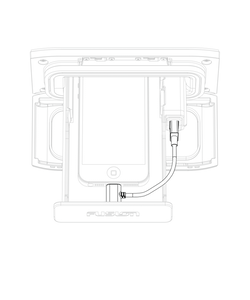 Fusion - UniDock micro USB kabel