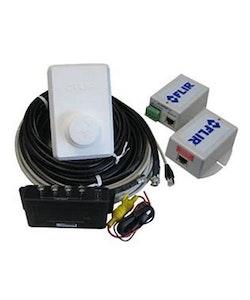 FLIR 500-0393-00 - Dubbelkommando-paket FLIR M-serien, Inkl 7,5 + 15m kablage, videosplitter och 2 PoE-injektorer