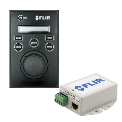 FLIR T70477 - JCU Kit 1, inkl JCU1, skydd, monteringskit, vattentät  kopplingsdosa, POW injector, 8 m RJ45-kabel